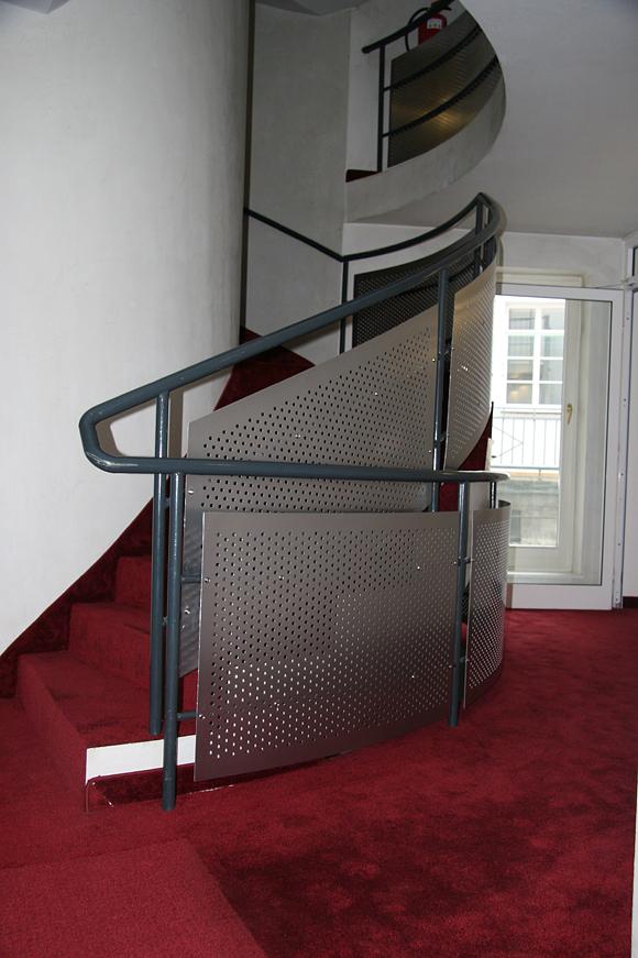 referenzen metallbau geiss weinheim nh hotel treppengelander
